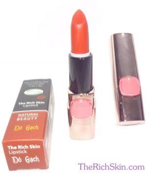 son duong moi co mau handmade chat luong cao The Rich Skin - Lipstick - lipbalm - matte lipstick - colour lipstick - clip care- natural thien nhien- mau DO NAU DO RUBY do gach 7