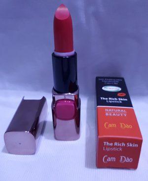 son duong moi co mau handmade chat luong cao The Rich Skin - Lipstick - lipbalm - matte lipstick - colour lipstick - clip care- natural thien nhien- mau cam dao 2